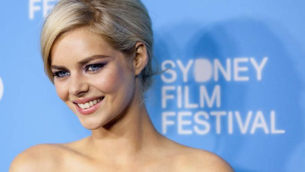 Samara Weaving attends the world premiere of Mystery Road on opening night of the Sydney Film Festival.