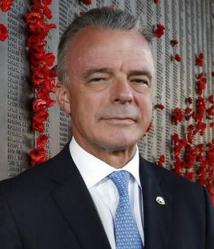 Australian War Memorial director, Brendan Nelson.