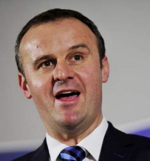 ACT Tourism Minister Andrew Barr.
