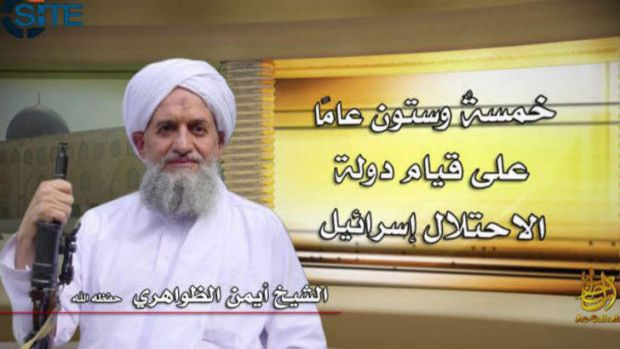 Mounting concern: Al-Qaeda leader Ayman al-Zawahiri called on jihadists fighting in Syria to unite.