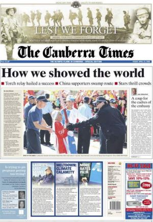 The The National Library's Trove and <i>The Canberra Times</i> are in the process of digitising 40 more years of the ...