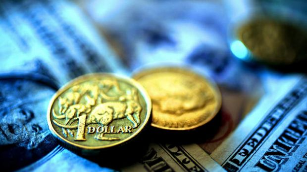 Not swimming, sinking ... The slide in the Aussie dollar has hastened.