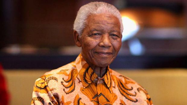 Still in hospital: Nelson Mandela.