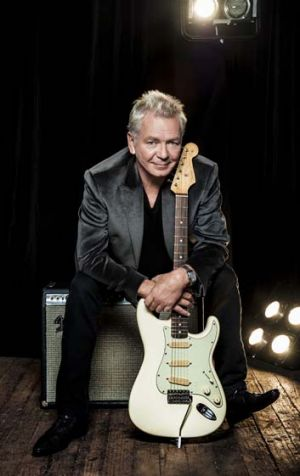 Honoured: Icehouse frontman Iva Davies was made a member of the Order of Australia.