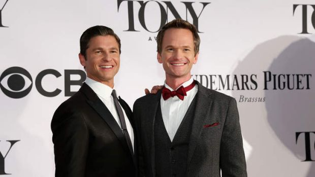 Married: David Burtka and Neil Patrick Harris in 2013.