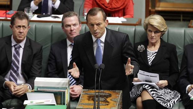 Tony Abbott plans to turn back boats and reintroduce temporary protection visas.