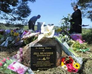 The spot where Jill Meagher was dumped and buried, then memorialised.