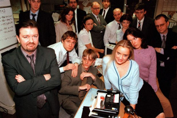 """""""The Office"""": Ricky Gervais and Stephen Merchant's excruciatingly brilliant comedy about a dysfunctional office manager."""