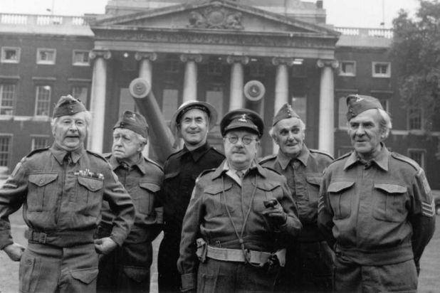 """""""Dad's Army"""": Jimmy Perry's much-loved comedy masterpiece about the men of Britain's Home Guard."""