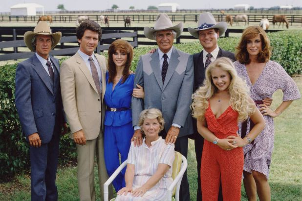 """""""Dallas"""": Television's greatest soap opera, about the rich but unhappy Texas oil dynasty, the Ewings."""