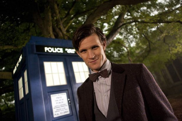 """""""Doctor Who"""": Britain's iconic science-fiction series about a mysterious time traveller known as The Doctor. Pictured is ..."""