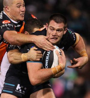 """If he picks me I'll be sweet"": Penrith's Tim Grant."