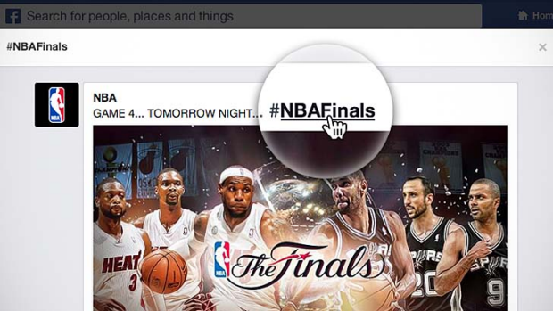 Hashtags: The tool made popular by Twitter is coming to Facebook.