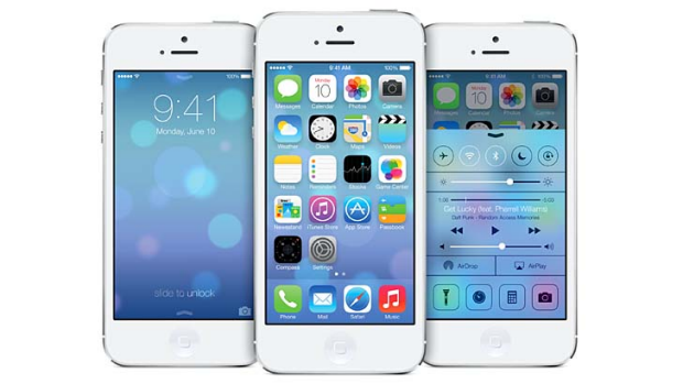 Familiar? Apple's iOS 7.