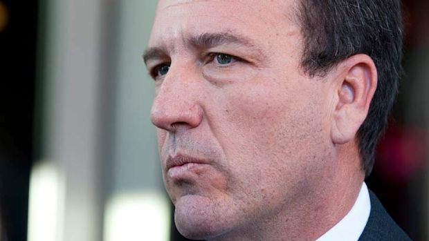 "Mal Brough: Found to have worked ""in combination"" with Mr Ashby."