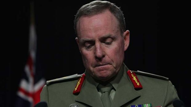 'This goes to the heart of systemic problems with culture inside the army': Chief of Army, Lieutenant General David Morrison.