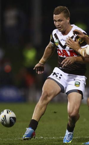 Set to go: Matt Moylan has been granted an exemption from the NRL salary cap auditor to play in place of injured Wes Naiqama.