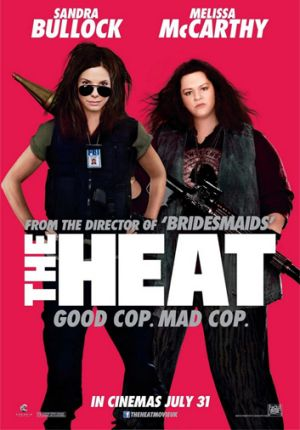 A 'slimmed down' Melissa McCarthy in a poster for <i>The Heat</i>.