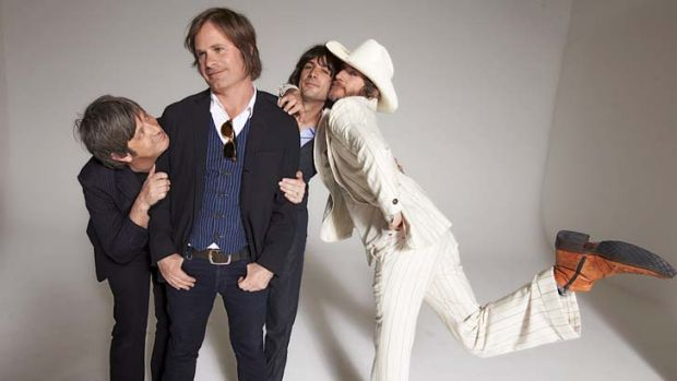 Swagger: You Am I (from left) Russell Hopkinson, Andy Kent, Davey Lane and Tim Rogers.