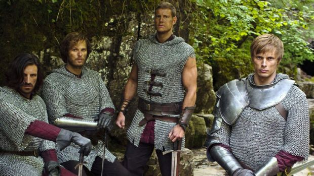 Tom Hopper (pictured second from right) will return for another year of Supanova with his co-stars.