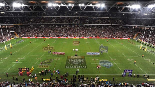 Just once  has a NSW outfit gone to Suncorp Stadium, its previous incarnation as Lang Park, or indeed Brisbane's ANZ ...
