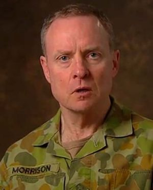 Army chief Lieutenant-General David Morrison.
