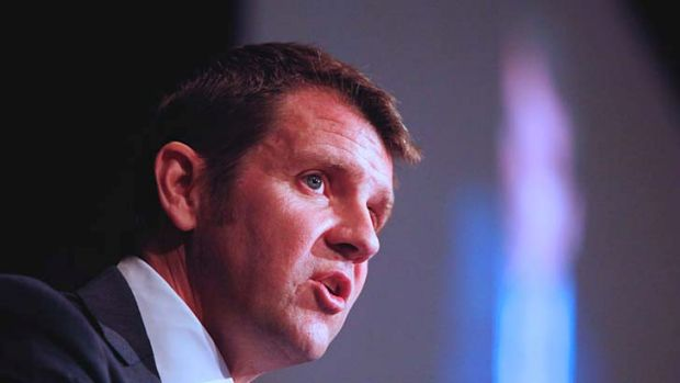 Solution: NSW Treasurer Mike Baird believes GST on online shopping holds the key to offsetting the Gonski bill.