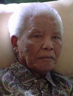 Lonely: Few people were allowed to visit Nelson Mandela while he was in hospital, alleges his bodyguard.