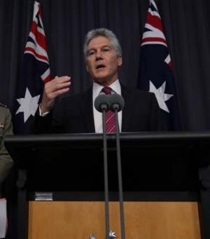 Denial: Defence Minister Stephen Smith claims the military were not made to go public.