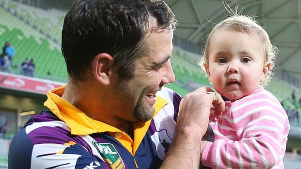 Influential: Cameron Smith of the Storm.