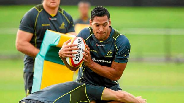 A starting spot beckons for Israel Folau.