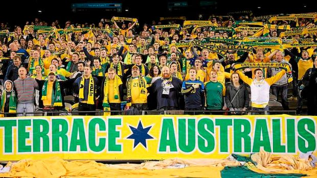 Climb aboard: The Socceroos are growing in stature among Australian sporting fans, and will only grow further if they ...