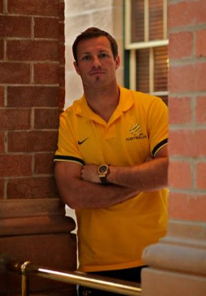 Patriotic but respectful: Lucas Neill expects Tuesday's crowd to be nervy but does not want them to boo the Iraq ...