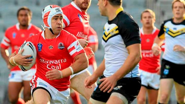 London bound: Jamie Soward has been released by the Dragons.