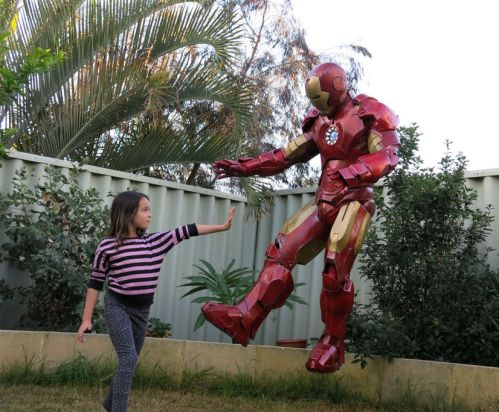 Just like dressing up as Iron Man does not mean you can fly.