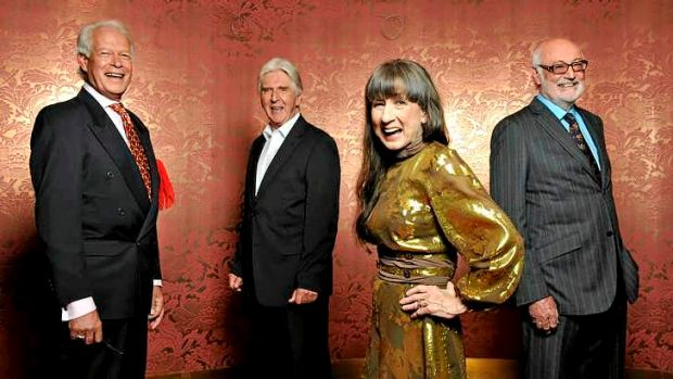 Stars for the ages: The Seekers, honoured for outstanding service.