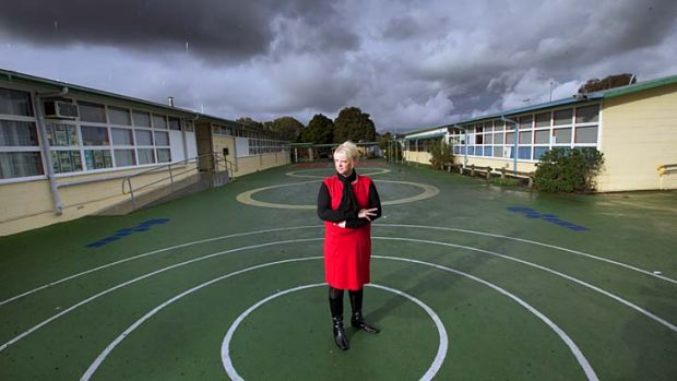 St Albans East Primary School principal Anne-Maree Kliman needs certainty over funding to draw up school budgets.