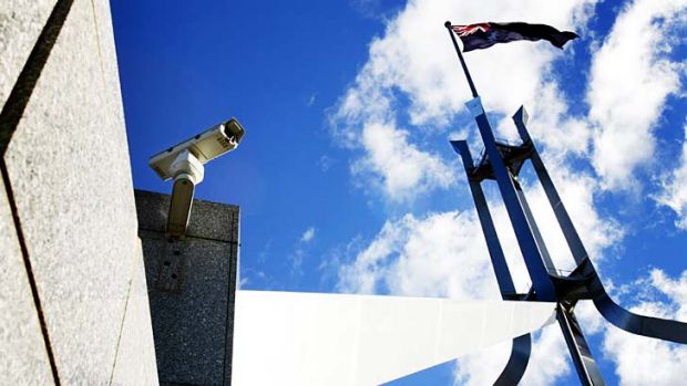 Hackable? A US security expert says he has found a way to remotely attack high-end surveillance cameras.