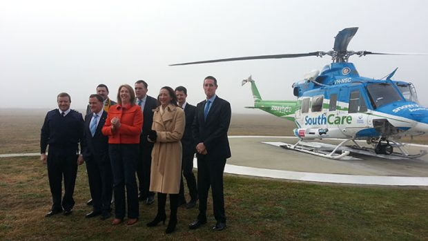 Regional affairs Minister Catherine King and local members Gai Brodtmann and Mike Kelly visited the Snowy Hydro South ...