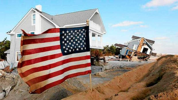 Superstorm Sandy among the wild weather incidents across the US.