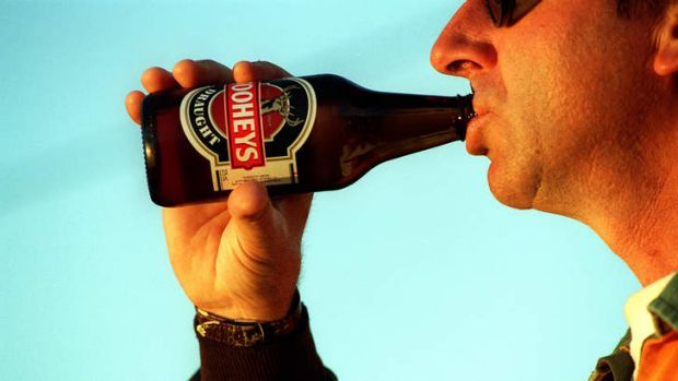 Alcohol and sport don't mix, WA police commissioner Karl O'Callaghan says.