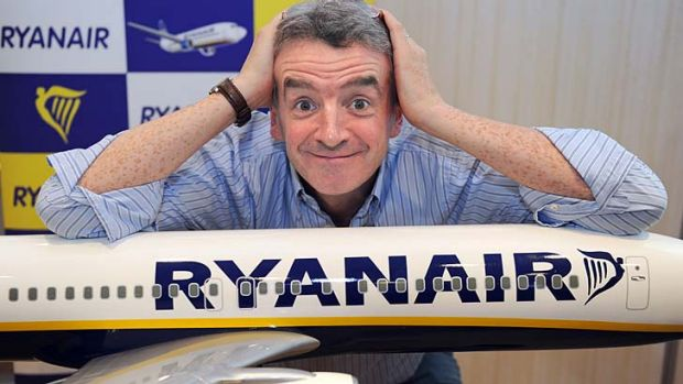 Dip in fares and yields ... Ryanair chief Michael O'Leary.