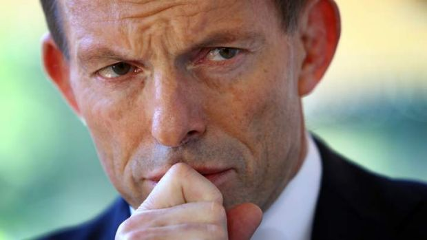 A new man: Tony Abbott.