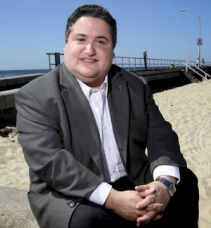 Former Hobsons Bay mayor Tony Briffa.