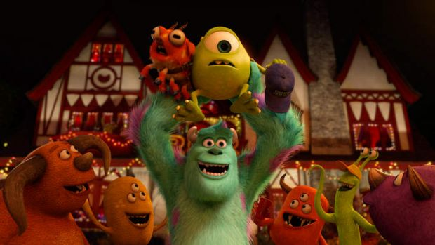 Flashback ... <i>Monsters University</i> is set years before <i>Monsters Inc</i> , when young Mike Wazowski (Billy ...