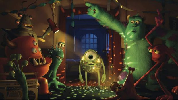 Monster team ... Mike and Sulley.