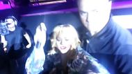 Rihanna 'hits fan with microphone' (Video Thumbnail)