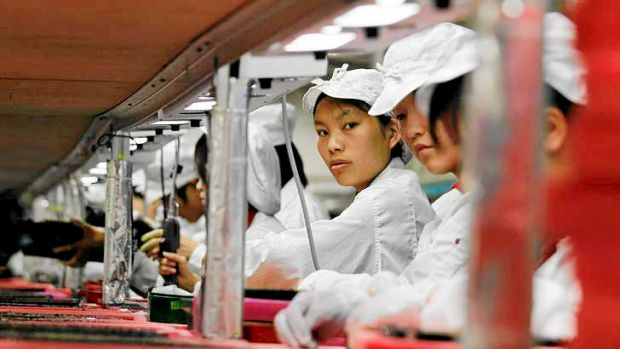 Factory data coming out of China is underwhelming.