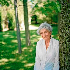 Author Alice Munro.