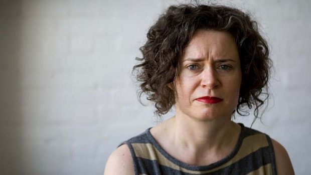 Stepping in: Judith Lucy.